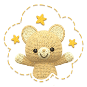1004636 - Kumakichi and colorful friends line貼圖