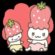 1010056 - strawberry babies line貼圖