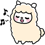 1028220 - Lovely Alpaca line貼圖