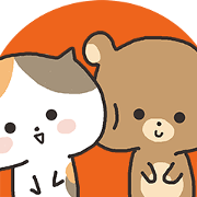 Everyday bear and cat