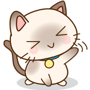 暹羅貓貼紙