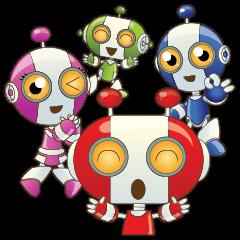 สติ๊กเกอร์ไลน์ Robot robot