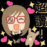 兔女郎&金毛尋回犬。台灣