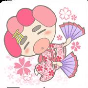 HACHIE of a kimono beauty