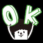 I am Okay 爆炸頭