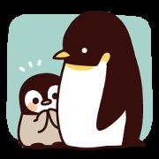 Relaxed honorific penguin