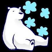 1192435 - Lazy, Kindly Polar bear 2 line貼圖