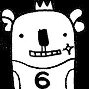 黑與白的熊 6