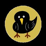小不點的小黑鳥