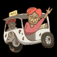 สติ๊กเกอร์ไลน์ Dek India