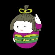 Cute Japanese doll