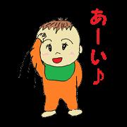 Baby&Mama,papa Family Sticker