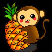 賀新年!! 小猴來報喜!! ^0^