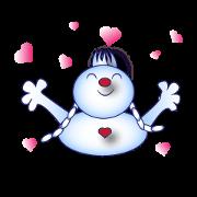 Snowman's Valentine Eng Ver
