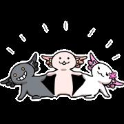 Mr.Axolotl 's sticker3