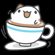 奶泡貓與咖波