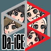 Da-iCE official Sticker3
