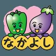 Eggplant&Green Pepper