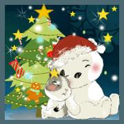小黑仔和鴨鴨-聖誕和新年快樂