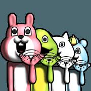 Dear animal costume 4