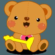 Ruddy Bear - Open the heart of love.