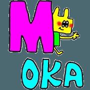 mokachan sticker