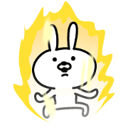 Cheerful rabbit for everyday use KOREAN