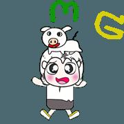 ...Mr. Takashi and pig.. ^_^