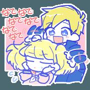 TachiJyoshi & TachiDanshi Sticker