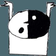Fragmentary Sticker