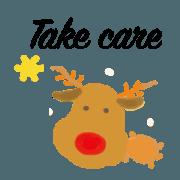 聖誕節及新年可愛吉祥貼圖