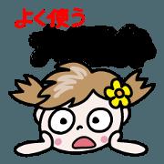 Nico-chan[Osaka dialect to use well]