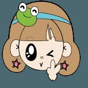 Bullfrog girl's daily life report
