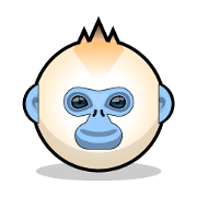 川金絲猴貼紙