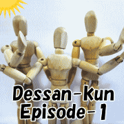 Dessan-kun episode1/Basic set