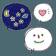 Ballon of smile face