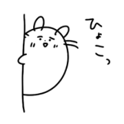 hamster and rabbit stickers
