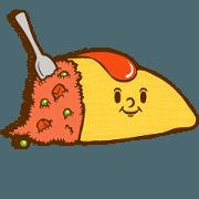 Feelings for omelet rice