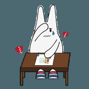 Eggy Bunny Emotions
