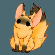 Clawed fox