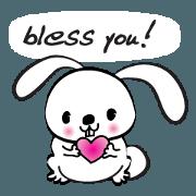 rabbit cute cute