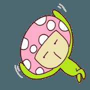 Lady Pinkly Mushroom