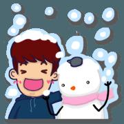Gyu-gyu Jjing and Snowman