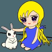 Molly & Bunny (Korean)