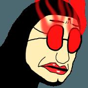 ICHIRO sticker(past-past-past life)