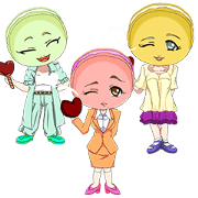 Lovely Girls Macaron Valentine Korea