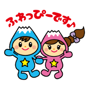fujimicity mascot character fuwappy