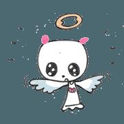 Angel cat of the world