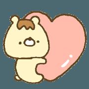 Bear resembling a pudding 7