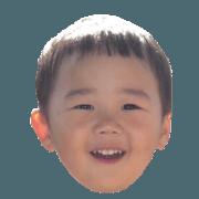 my son's sticker